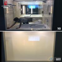 定制 彩色 变色玻璃膜 卫浴隔断调光玻璃 雾化玻璃