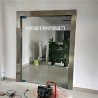 深圳无框玻璃门考勤刷卡感应玻璃门安装维修