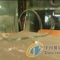 单/双曲钢化玻璃供应