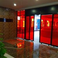 西安鑫瑞祥变色玻璃,办公隔断玻璃