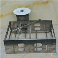 高温金属套管,玻璃钢化炉专用不銹钢纤維套管