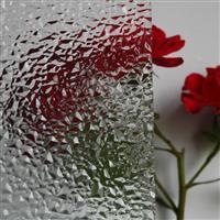 压花钻石 海棠 四季红 香梨 布纹 七巧板压延玻璃大全