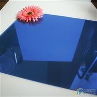 F绿玻璃 f绿镀膜 福特蓝自然绿4mm有色玻璃原片