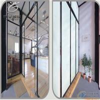 办公室智能调光玻璃隔断 电控变色玻璃 通电雾化玻璃