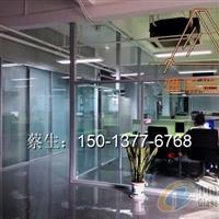 深圳办公室隔断玻璃使用