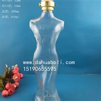 600ml玻璃白酒瓶生產商