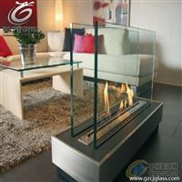 壁炉玻璃_微黄耐高温玻璃、驰金专业耐高温玻璃供应