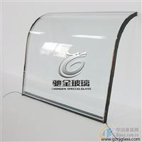 冷柜电加热玻璃门 冰柜门玻璃 弧形电加温玻璃