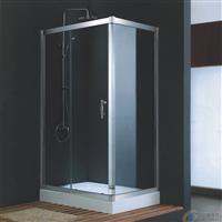洗手间玻璃门 干湿分隔淋浴房玻璃门