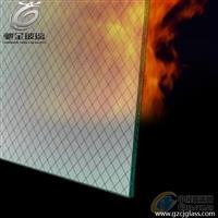 驰金特种玻璃 防火门窗用单片铯钾防火玻璃