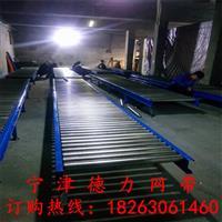 無動力滾筒流水線空氣能不銹鋼滾筒組裝線水平傳送帶DL