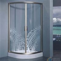 屏風 簡易淋浴房鋼化玻璃 沐浴房