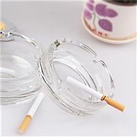 110ml热卖朗旭圆形玻璃烟灰缸