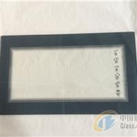 供应电烤箱丝印钢化玻璃面板