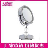 led台式化妆镜定制,带灯台镜子,台式化妆镜生产厂家