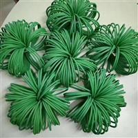 供应φ10绿色pu粗面圆带