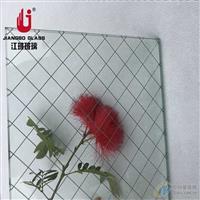 江玻 高透进口铁线网玻璃  铁丝玻璃