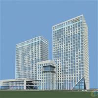 沙坪坝区外墙玻璃设计|幕墙门窗施工|重庆航鸿幕墙公司