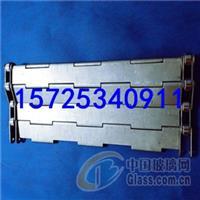 玻璃机械输送链板网带A高温链板带样式