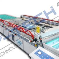 众景精密机械 全自动工程玻璃网印机