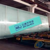 成都19mm超白钢化玻璃