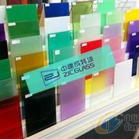 四川彩色夹层玻璃厂家