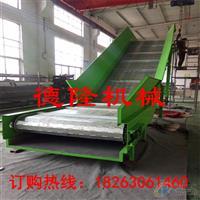 加大加寬爬坡輸送機鏈板爬坡輸送機重型鏈板爬坡輸送機