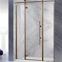 304不锈钢玻璃移门卫生间玻璃隔断