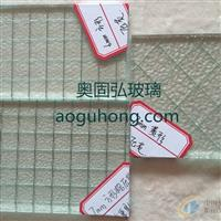 广东夹丝玻璃 防爆夹丝玻璃加工