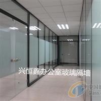 深圳玻璃门店铺玻璃门办公室玻璃隔断