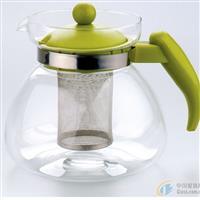 耐热茶壶直火壶不锈钢内网直火壶高硼硅