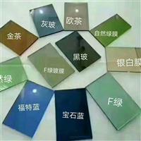 藍欣金晶色玻鍍膜超白low-e