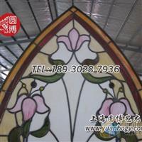 圆博玻璃定制彩色镶嵌玻璃彩绘镶嵌玻璃质量保证