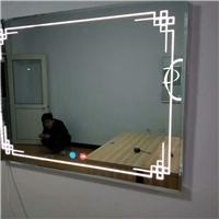 防雾镜时间智能灯镜 时间温度功能镜子