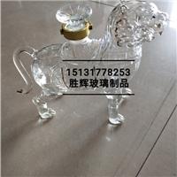 吹制滄州鐵獅子工藝酒瓶