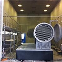 不二蜂窝回收喷砂房气力回收喷砂房