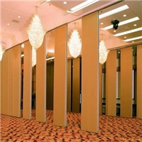 武汉酒店隔断,轨道隔断墙,屏风隔断,折叠活动隔断