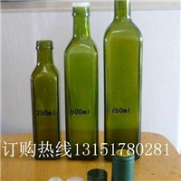 亚麻籽油瓶亚麻油瓶500ml玻璃瓶