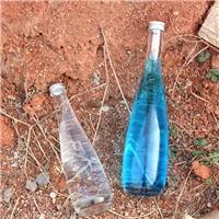 铝盖玻璃瓶饮料瓶水滴玻璃瓶青酒瓶