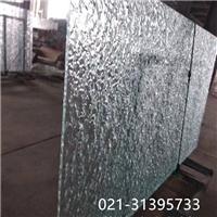上海苏州 热熔玻璃加工钳口玻璃叠纹玻璃