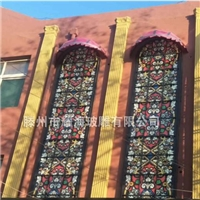 KTV教堂玻璃多彩