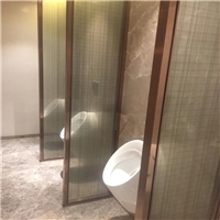 夹丝玻璃 夹胶玻璃 酒店装饰夹绢玻璃