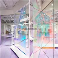同民供应幻彩玻璃 变色炫彩玻璃