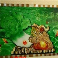 竹木纤维板集成墙板3d彩雕背景墙打印机