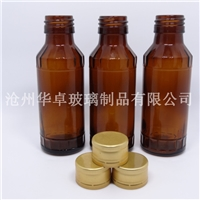 北京华卓求购规格全高质量的棕色模制口服液瓶