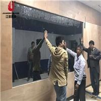 监控室单向玻璃 审讯室辨认玻璃 单反单向可视