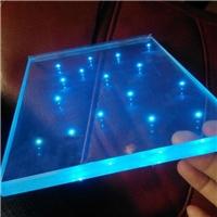 發光玻璃 玻璃內鑲LED燈珠  特種玻璃