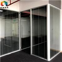 宿迁玻璃隔断,宿迁办公室高隔间百叶隔断精工打造