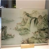 山水画调光玻璃 图案可选 广州汇驰厂家