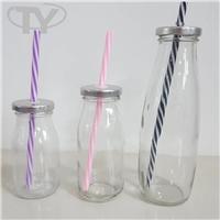 饮料瓶,200ml吸管奶瓶,玻璃奶瓶